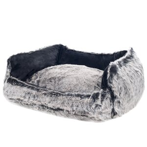 Faux Fur Mink Dog Bed