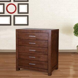 Brayden Studio Sagittarius 5 Drawer Dresser