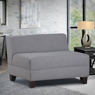 Reviews Woodhouse Armless Loveseat Latitude Run