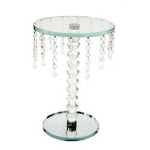 Mcdade Glass End Table