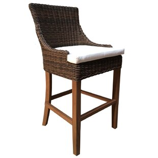 Ennis Patio Bar Stool by Rosecliff Heights 2019 Sale