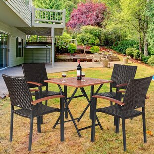 Wiese 5 Piece Dining Set