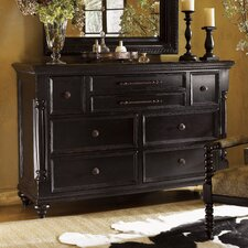 Kingstown Stony Point 6 Drawer Triple Dresser by Tommy Bahama Home
