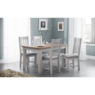 Review Port Mahon Dining Set With 4 Chairs