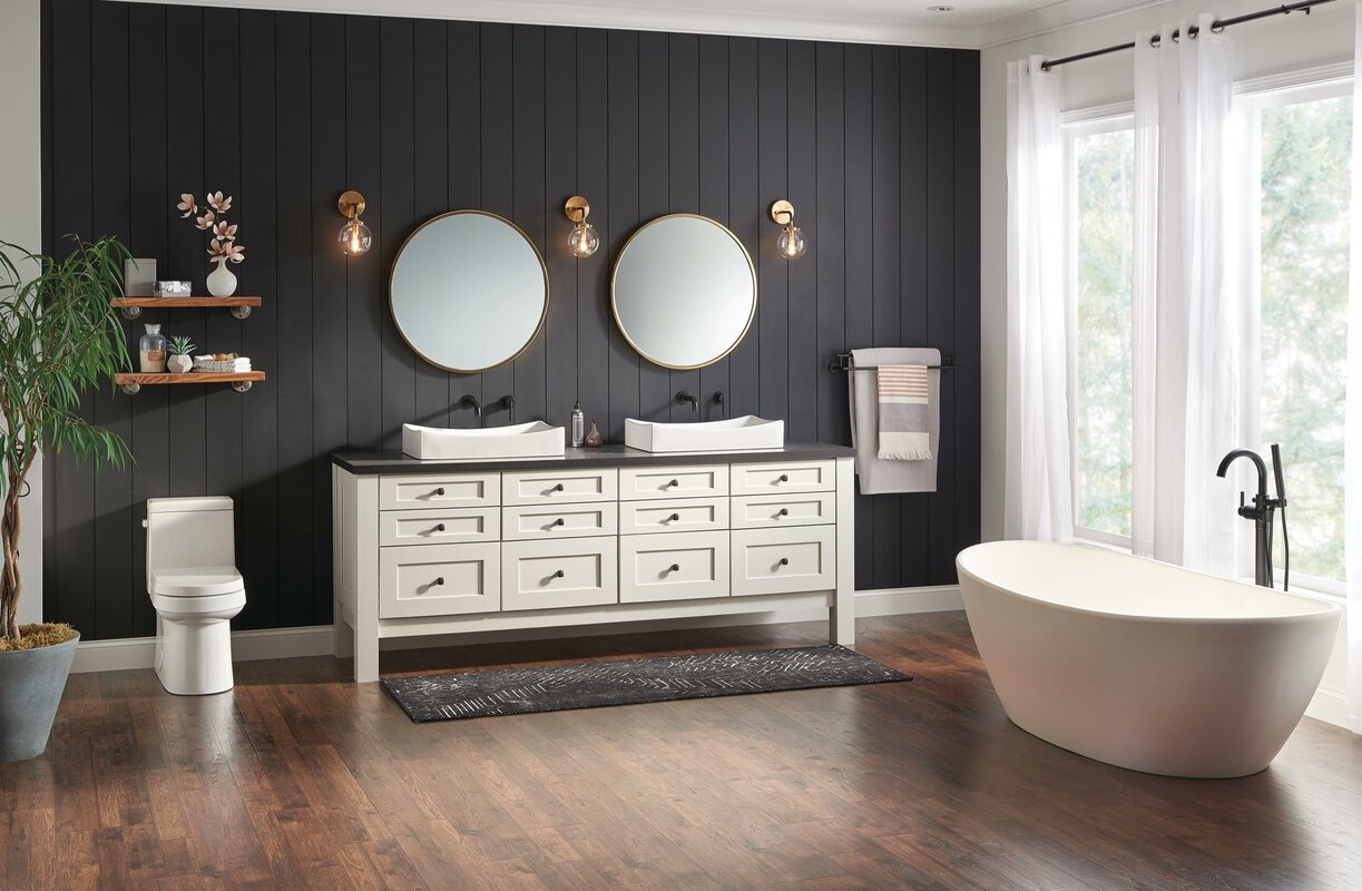 roman faucet ring faucetlist bathroom delta stainless tagged hook robe over finish trinsic tub com towel steel collections collection