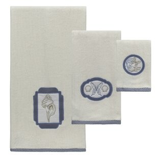Chestertown 3 Piece 100% Cotton Towel Set