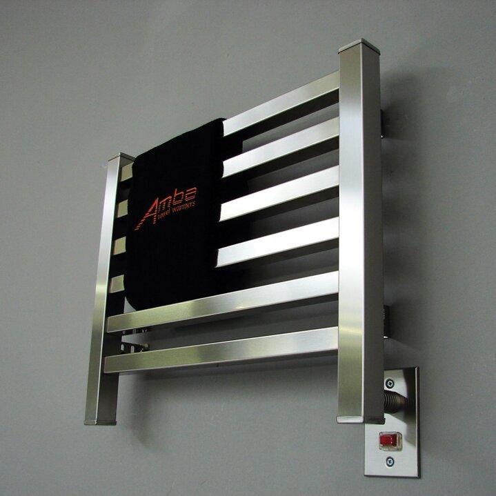 Amba Quadro Electric Dual Purpose Wall Mount Towel Warmer Reviews Wayfair