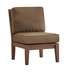 Brook Hollow Armless Chair with Cushion