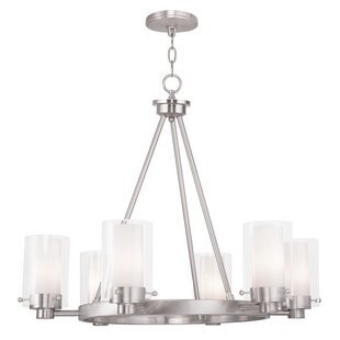 Levi 6-Light Shaded Chandelier