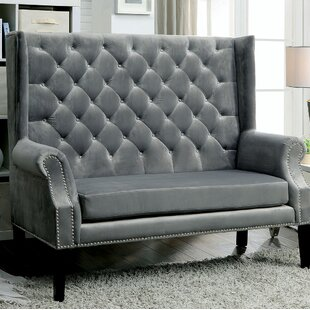 Maiden Lane Wingback Settee by Rosdorf Park