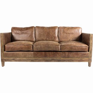 Bargain Sherly Leather Sofa by Union Rustic Reviews (2019) & Buyer's Guide