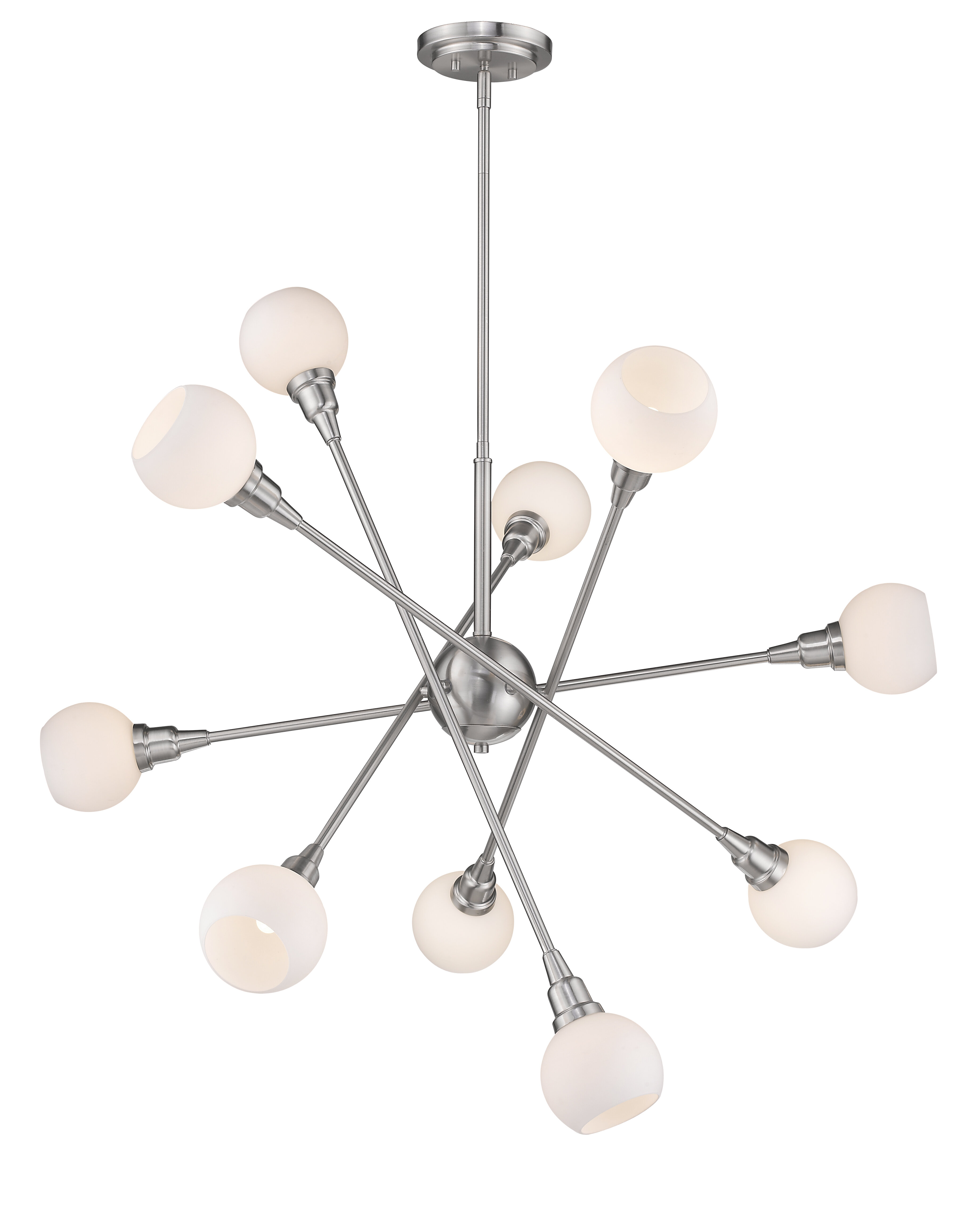 Brayden Studio Silvernail 10 Light Sputnik Chandelier