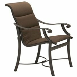 Tropitone Montreux Patio Dining Chair with Cushion