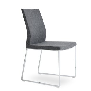 Pasha Slide Upholstered Dining Chair