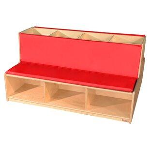 Read-A-Round Storage Bench by Wood Designs