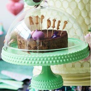 Cake Stand with Dome & Cake Stand With Dome | Wayfair