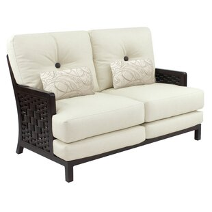 Spanish Bay Loveseat With Cushions by Leona Herry Up