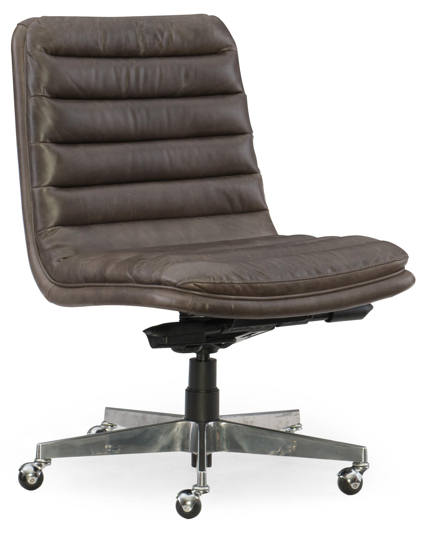 Hooker furniture wyatt home office mid back leather office chair wayfair