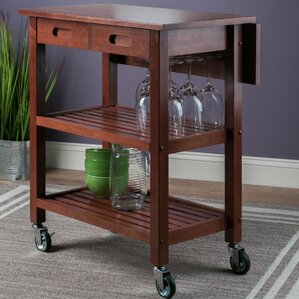 Jonathan Kitchen Cart by Winsome