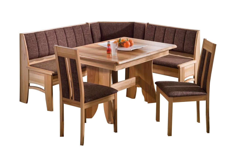Schösswender Eckbankgruppe Bali mit ausziehbarem Tisch und 2 Stühlen ...