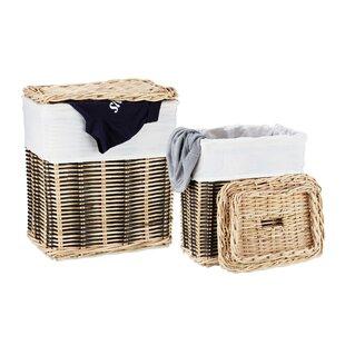 Stars Laundry Basket Set By Brambly Cottage