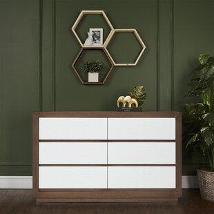 Maddox 6 Drawer Double Dresser