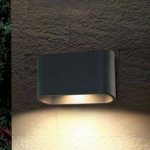 Bruck Lighting Eclipse 1-Light Outdoor Flush Mount