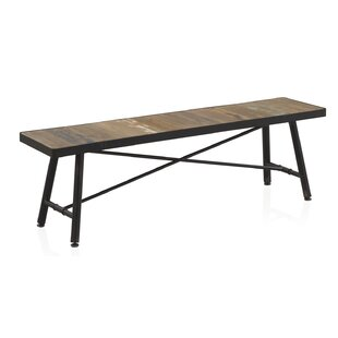 Clarisse Wood Dining Bench By Williston Forge