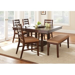 Yonkers Extendable Dining Table by Alcott Hill