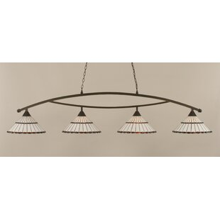Astoria Grand Austinburg Contemporary 4-Light Kitchen Island Pendant