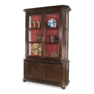 Allmon China Cabinet by Canora Grey