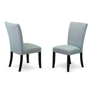 Dampier Upholstered Dining Chair (Set of 2) Charlton Home