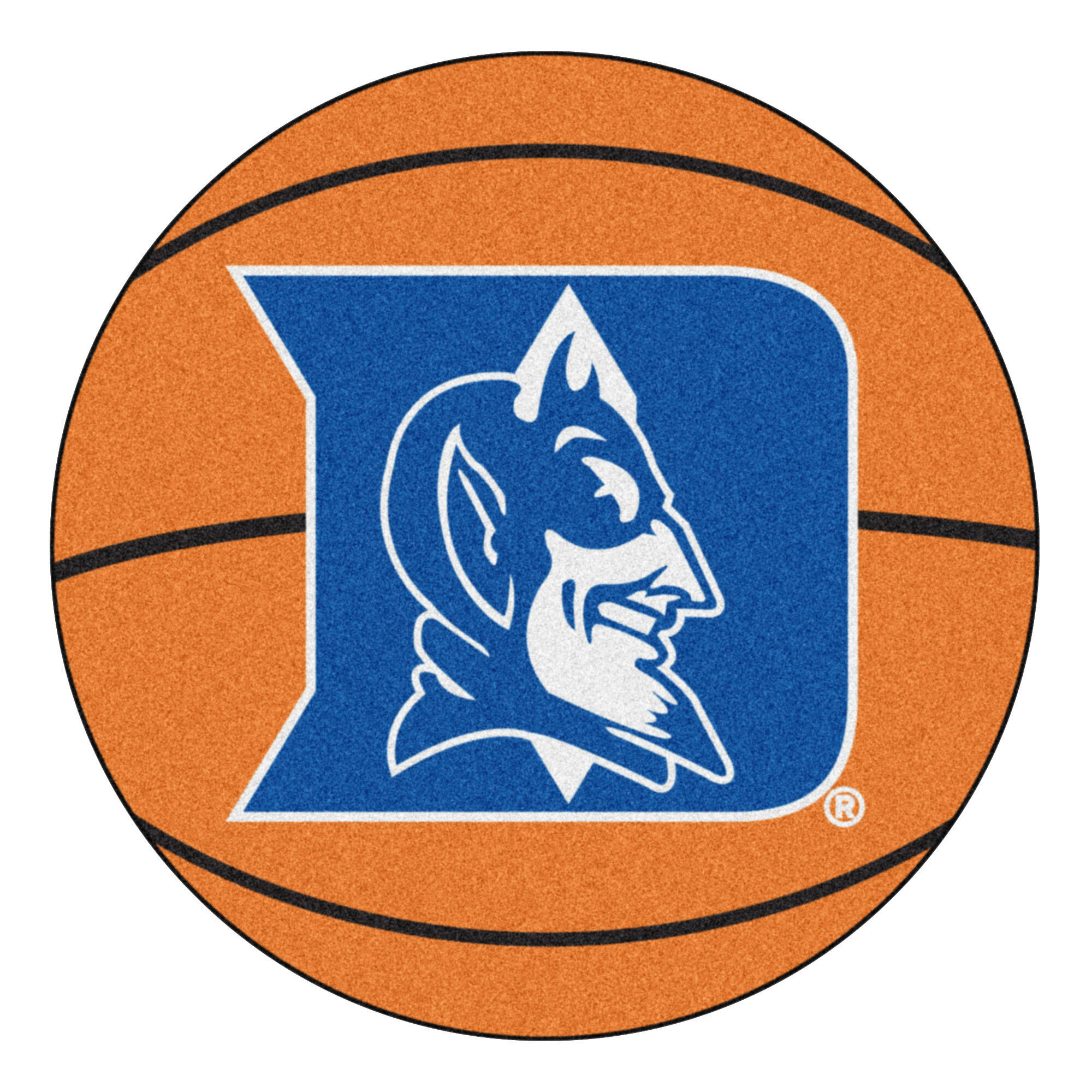 Fanmats Ncaa Duke University Basketball 27 In X 27 In Non Slip Indoor Only Mat Reviews Wayfair