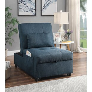 Millet Tufted Futon Chair by Latitude Run