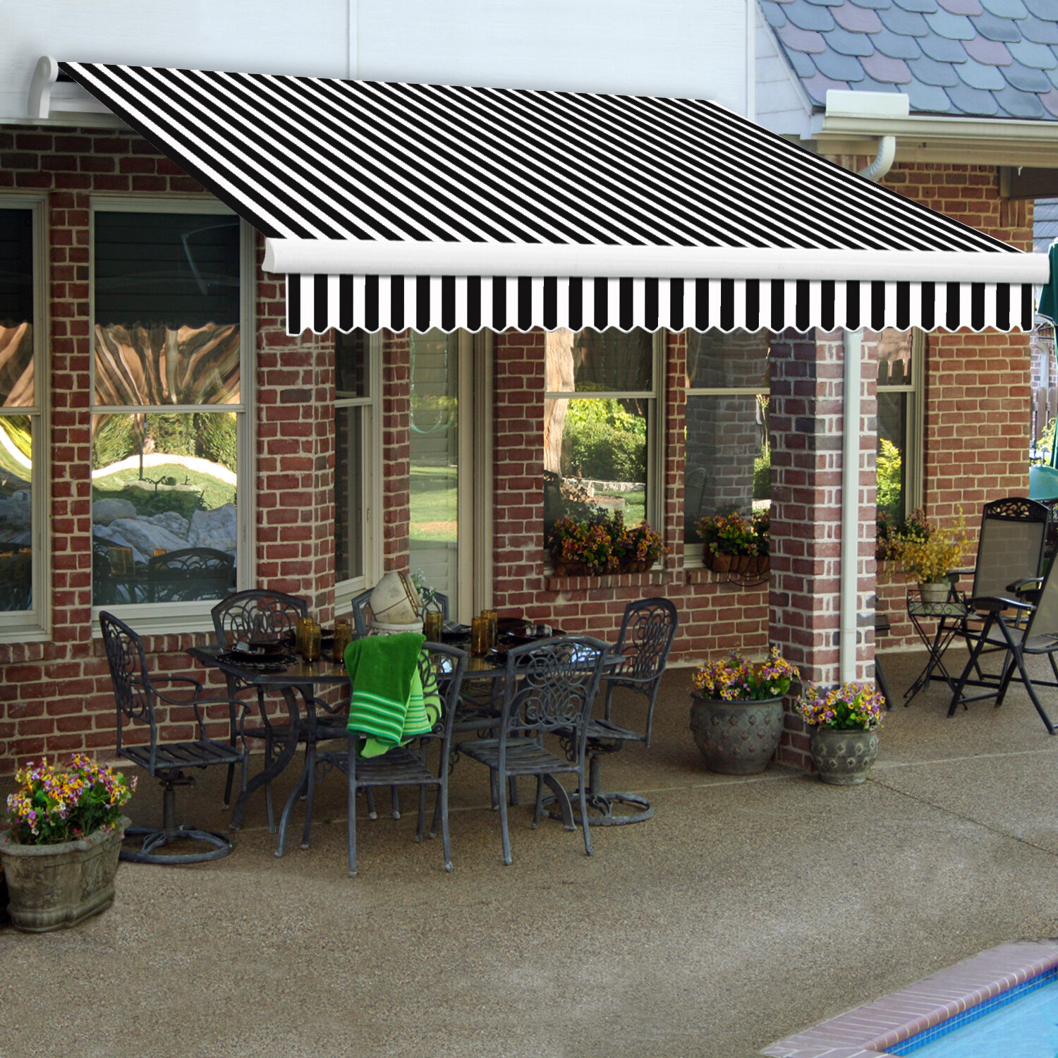 sun best of door decks outdoor patio awning canopy shade deck for retractable awnings