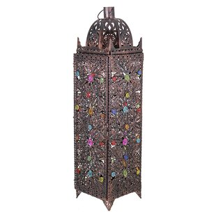 Outdoor Metal Lantern By Bloomsbury Market Outdoor Lighting