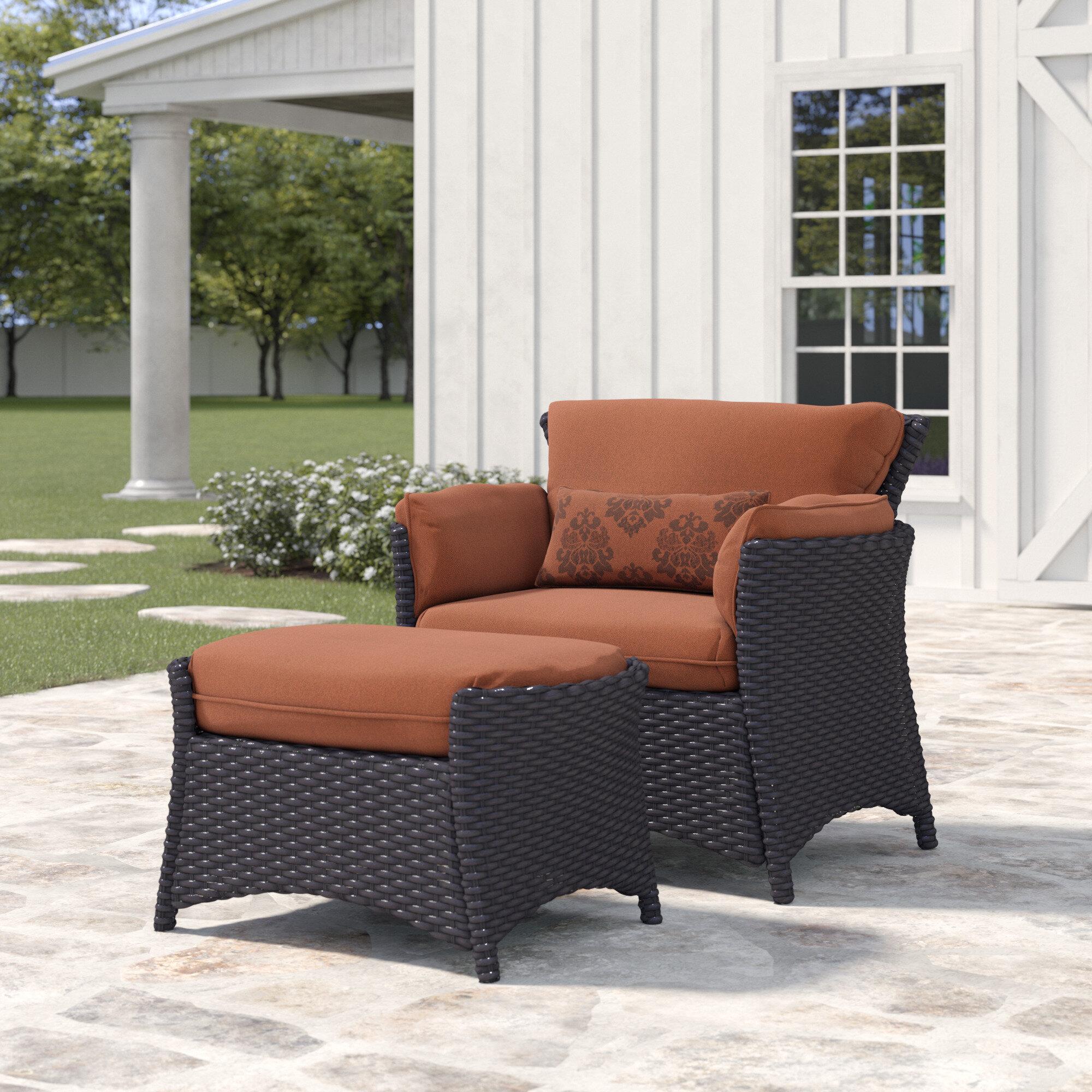 2 Piece Deep Seating Patio Chair