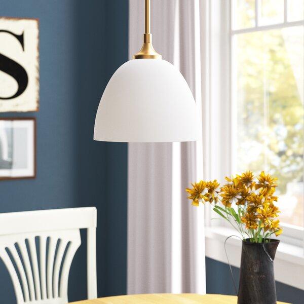 Andover Mills Rhea 1 Light Single Bell Pendant Wayfair