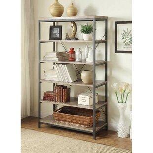 Nisha 5 Shelve Etagere Bookcase