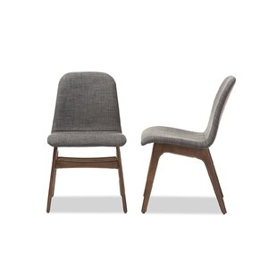 Carrick Scandinavian Upholstered Dining Chair (Set of 2) George Oliver