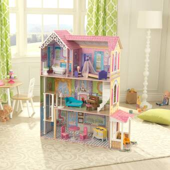 1:12 Mini Dollhouse Accessories Lighting Desk Table Light Lamp w// Button Battery