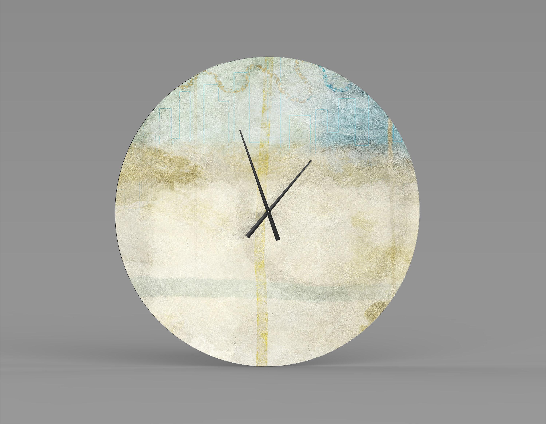 Orren Ellis Oversized Almute Wall Clock Wayfair