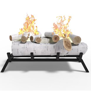 Ethanol Fireplace Log Set By Millwood Pines