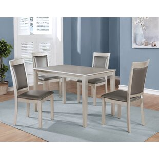 Kitterman 5 Piece Dining Set by House of Hampton