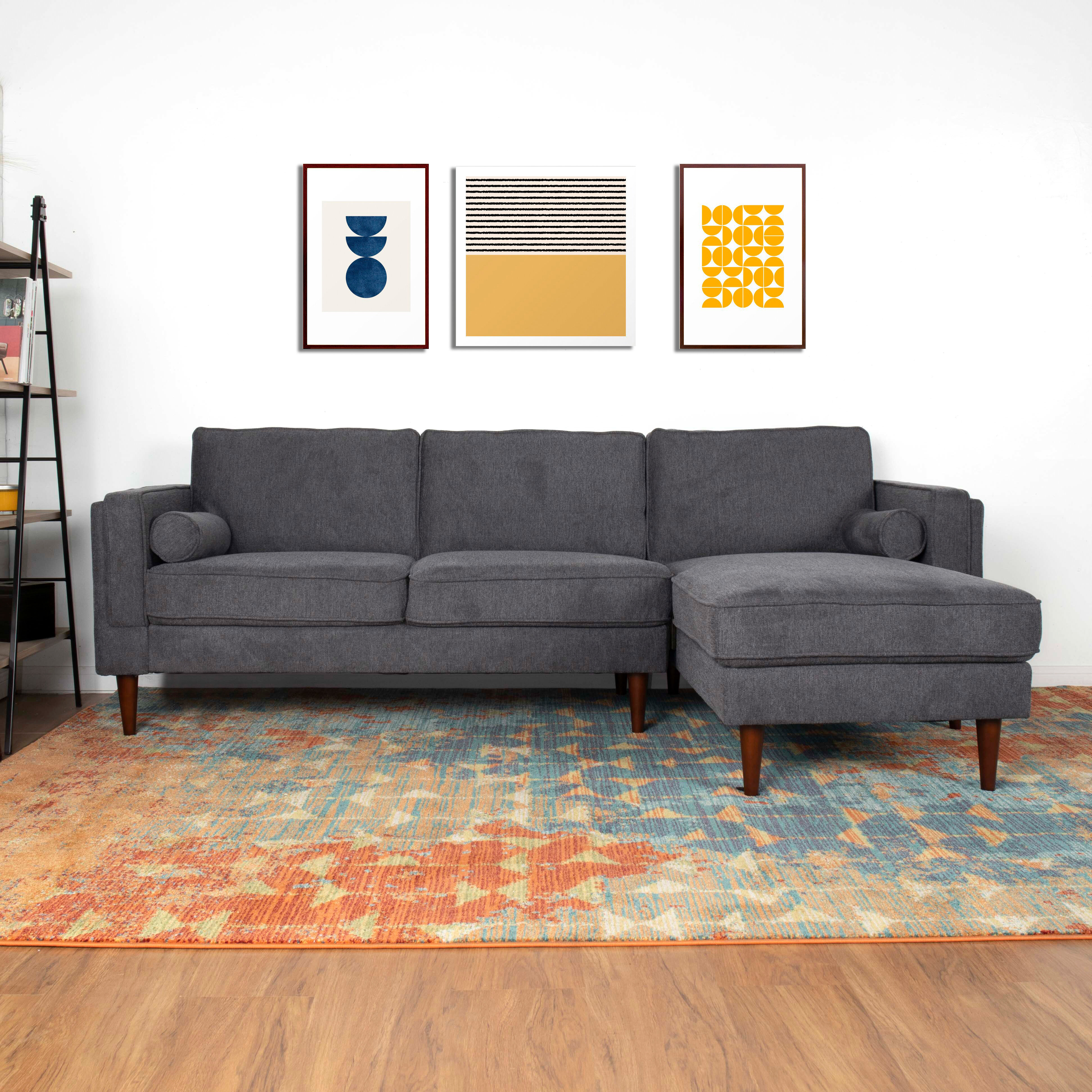 George Oliver Cadell 94 Reversible Sofa Chaise Wayfair