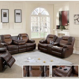 Rueter 2 Piece Reclining Living Room Set