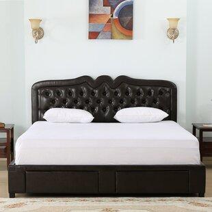 Petegem Upholstered Storage Panel Bed by House of Hampton