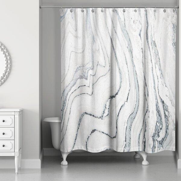 Marble Shower Curtain Wayfair