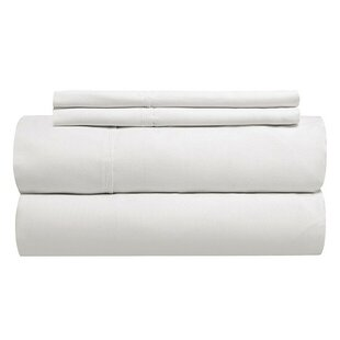 Sint 310 Thread Count Solid 100% Cotton Fitted Sheet