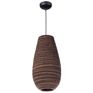 Lincoln 1-Light Cylinder Pendant by World Menagerie